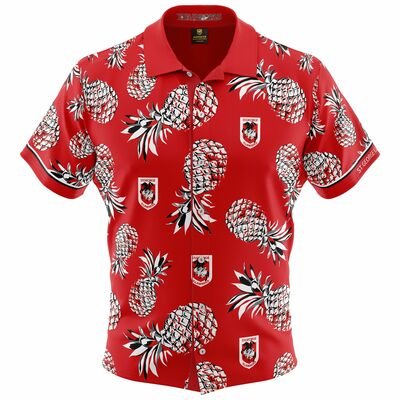 セント・ジョージ・イラワラ・ドラゴンズ 2019 NRL ハワイアンシャツ