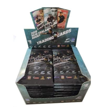 ニュージーランド ラグビー トレーディングカード2019 BOX(36パック×9枚 324枚入)