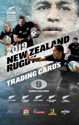 ニュージーランド ラグビー トレーディングカードパック 2019(1パック9枚入)