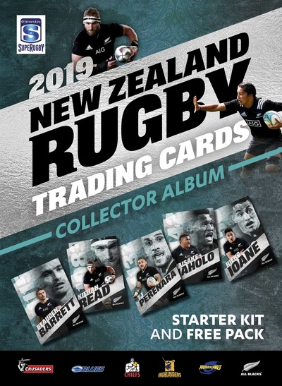 ニュージーランド ラグビー トレーディングカード 2019 アルバム