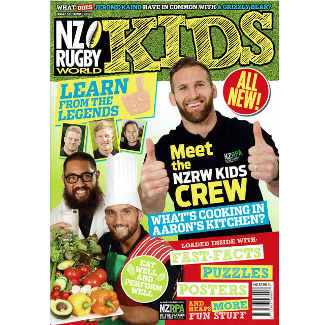NZ RUGBY KIDS ISSUE No.1
