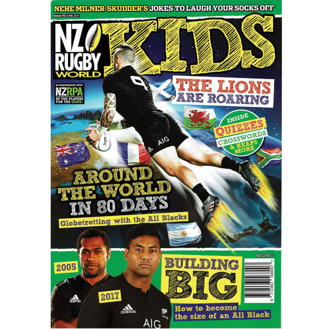 NZ RUGBY KIDS ISSUE No.10
