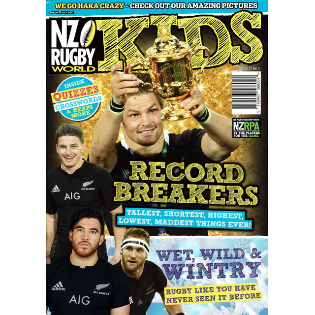 NZ RUGBY KIDS ISSUE No.11