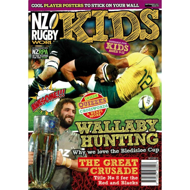 NZ RUGBY KIDS ISSUE No.13