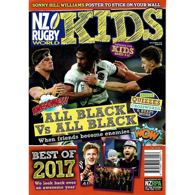 NZ RUGBY KIDS ISSUE No.16
