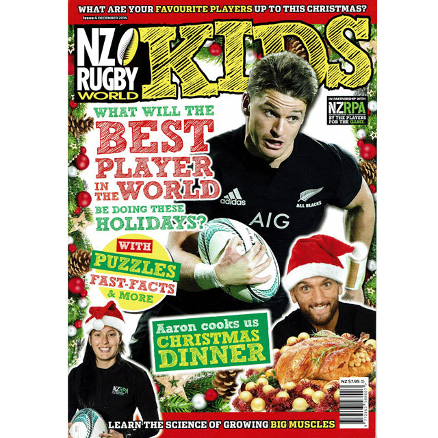 NZ RUGBY KIDS ISSUE No.4