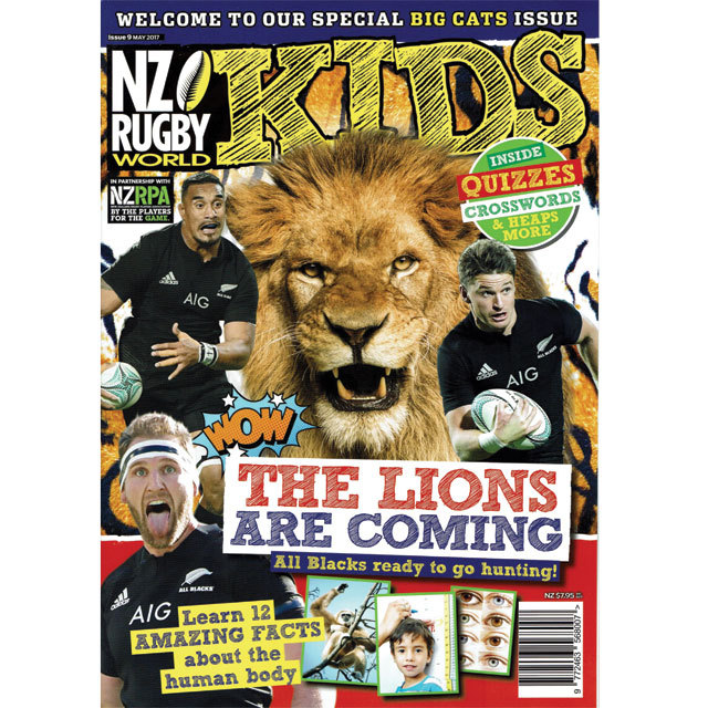 NZ RUGBY KIDS ISSUE No.9