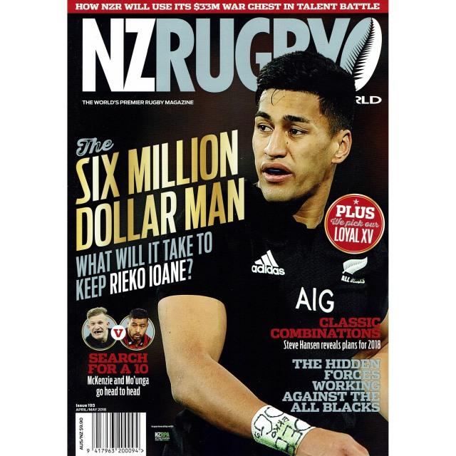 NZ RUGBY 2018年4月5月号 No.193