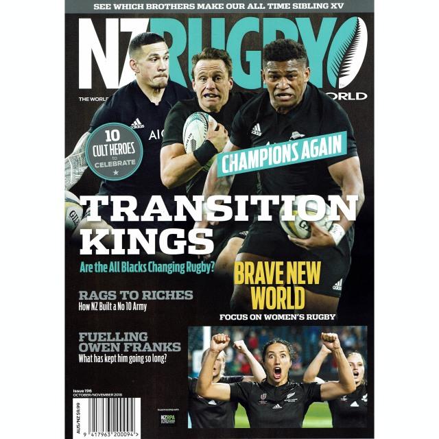 NZ RUGBY 2018年10月11月号 No.196