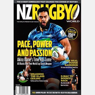 NZ RUGBY 2019年6月7月号 No.200