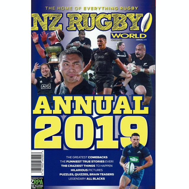 NZ RUGBY KIDS 2019年増刊号