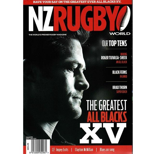 NZ RUGBY 2021年4月5月号 No.210