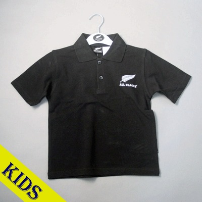 オールブラックス 子供用ポロシャツ