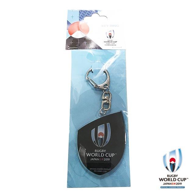 ラグビーワールドカップ2019(TM) 公式ライセンス アクリルキーホルダー(ブラック)