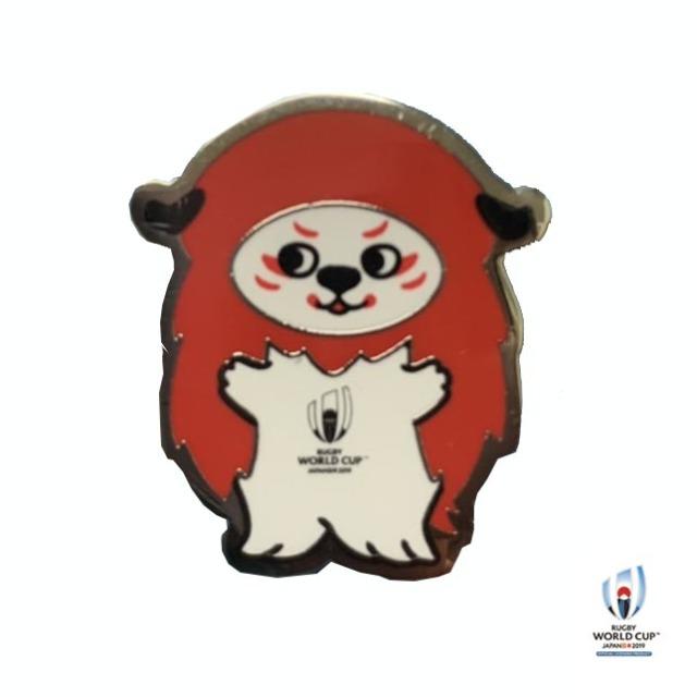 ラグビーワールドカップ2019(TM) 公式ライセンス Ren-G ピンバッジ G(ジー)