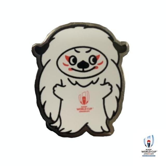 ラグビーワールドカップ2019(TM) 公式ライセンス Ren-G ピンバッジ Ren(レン)