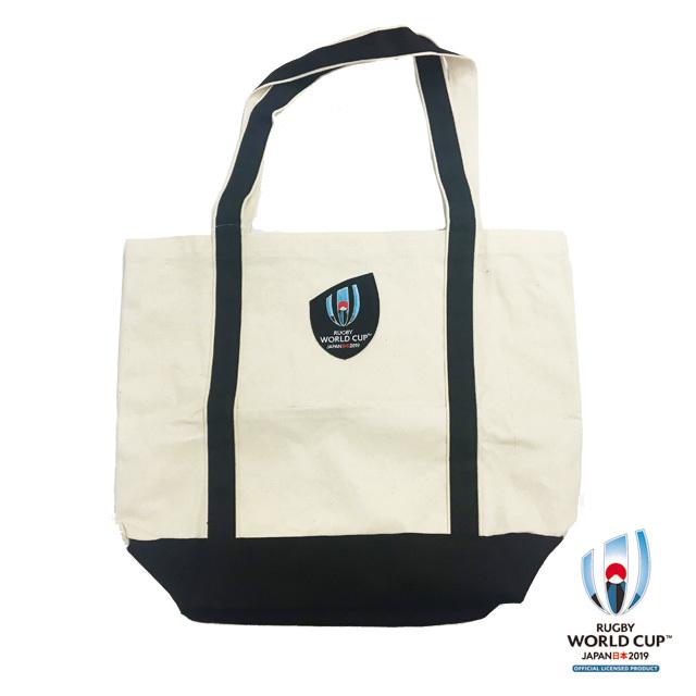ラグビーワールドカップ2019(TM) 公式ライセンス バイカラートートバッグ
