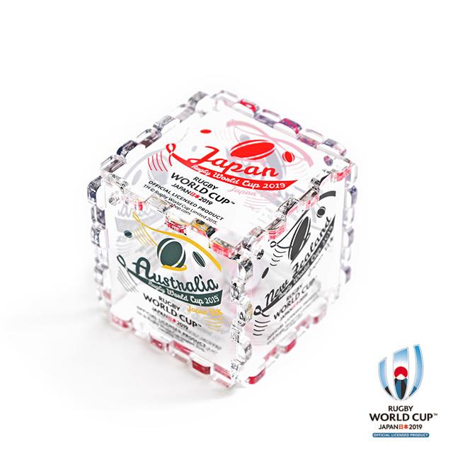 ラグビーワールドカップ2019(TM) 公式ライセンス アクリルキューブ【全21種】