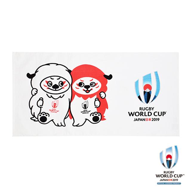 ラグビーワールドカップ2019(TM) 公式ライセンス バスタオル ( Ren-G レンジー)