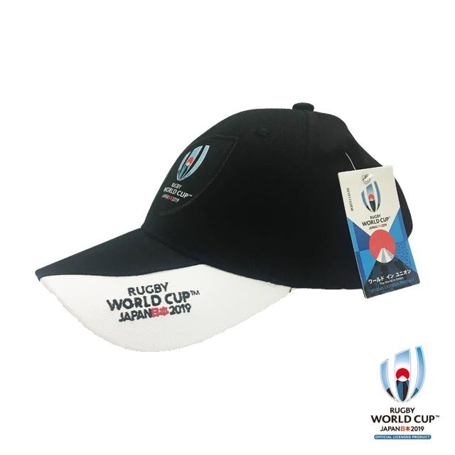ラグビーワールドカップ2019(TM) 公式ライセンス キャップ(ブラック)