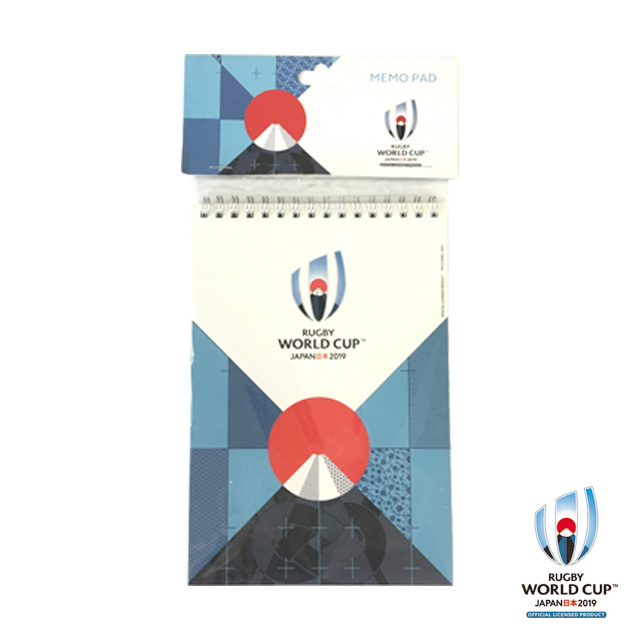 ラグビーワールドカップ2019(TM) 公式ライセンス メモ帳(富士山)