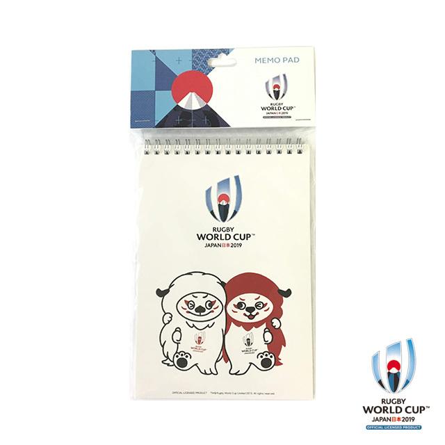 ラグビーワールドカップ2019(TM) 公式ライセンス メモ帳(Ren-G レンジー)