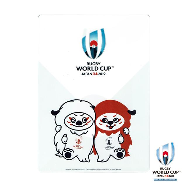 ラグビーワールドカップ2019(TM) 公式ライセンス 下敷き