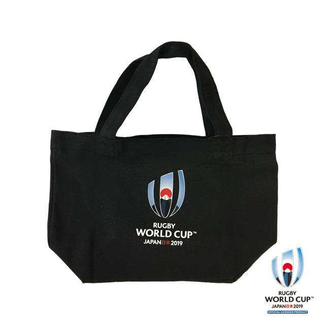 ラグビーワールドカップ2019(TM) 公式ライセンス トートバッグ S (ブラック)