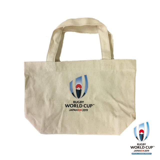 ラグビーワールドカップ2019(TM) 公式ライセンス トートバッグ S (ホワイト)