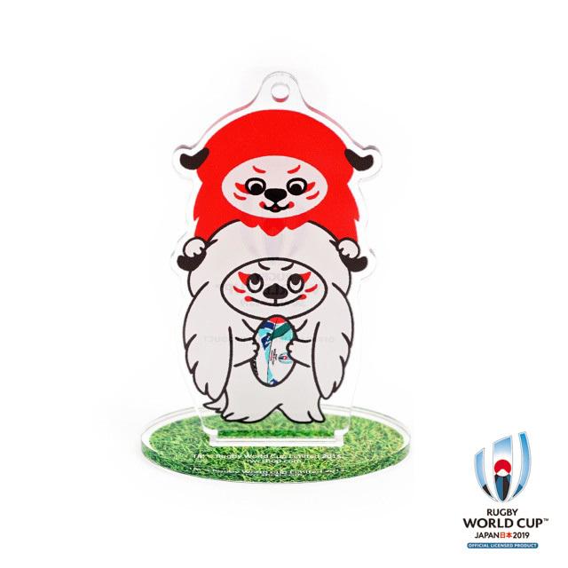 ラグビーワールドカップ2019(TM) 公式ライセンス アクリルスタンド( Ren-G レンジ-)