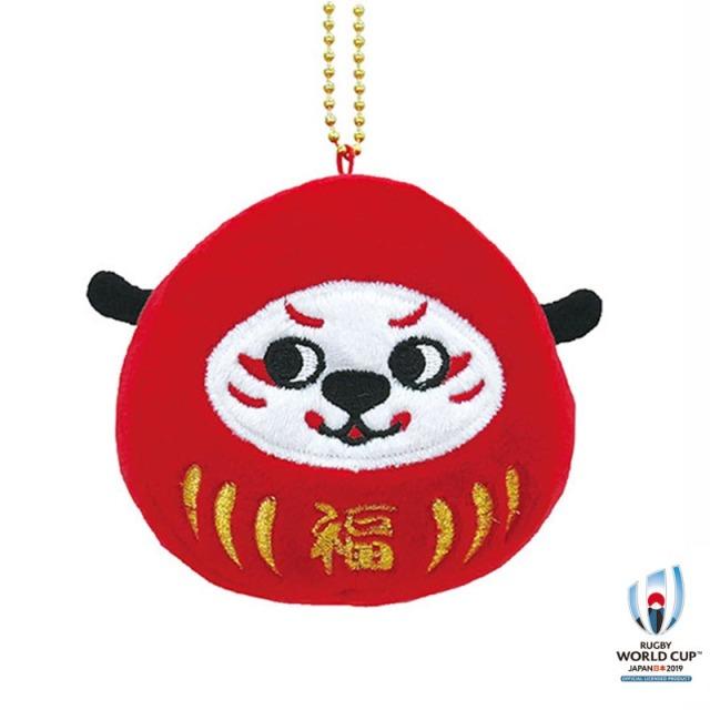 ラグビーワールドカップ2019(TM) 公式ライセンス だるまマスコットキーリング  Ren-G G(ジー)