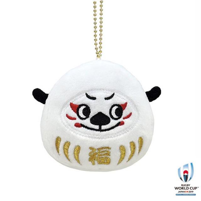 ラグビーワールドカップ2019(TM) 公式ライセンス だるまマスコットキーリング  Ren-G Ren(レン)