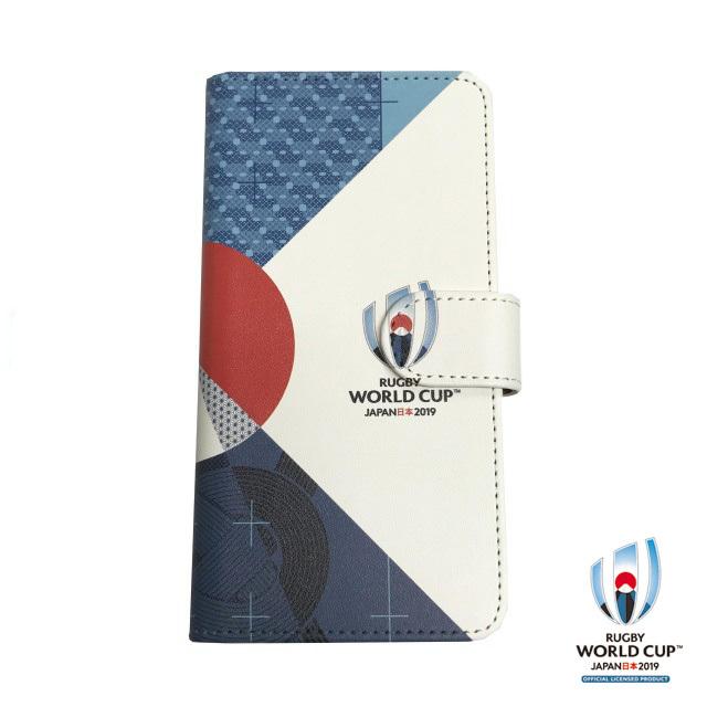 ラグビーワールドカップ2019(TM) 公式ライセンス iPhone X ケース 手帳型(FUJI)
