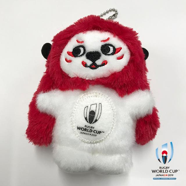 ラグビーワールドカップ2019(TM) 公式ライセンス マスコットキーリング  Ren-G G(ジー)