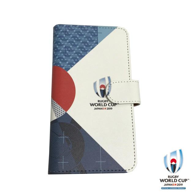 ラグビーワールドカップ2019(TM) 公式ライセンス 手帳型マルチ スマホケース(FUJI)