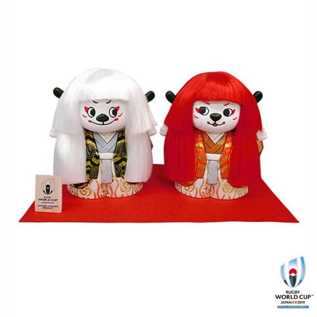 ラグビーワールドカップ2019(TM) 公式ライセンス Ren-G(レンジー)木目込人形