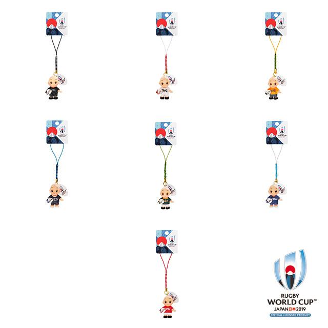 ラグビーワールドカップ2019(TM) 公式ライセンス コスチュームキューピー 【全7種】