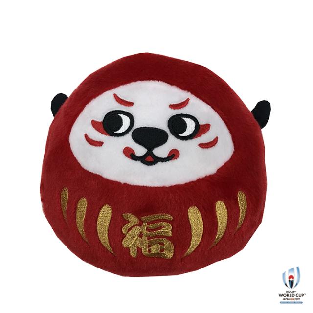 ラグビーワールドカップ2019(TM) 公式ライセンス Ren-G だるまぬいぐるみ G(ジー)
