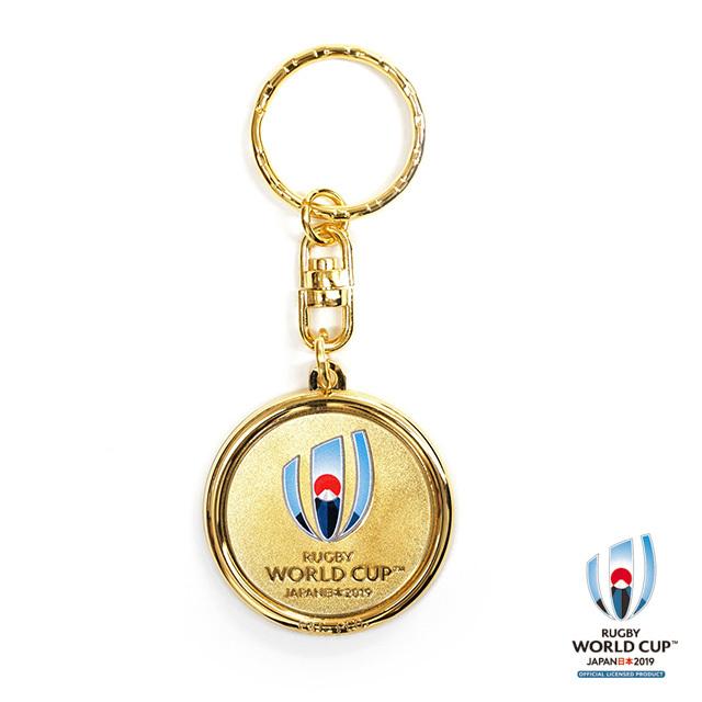 ラグビーワールドカップ2019(TM) 公式ライセンス メタルキーチェーン
