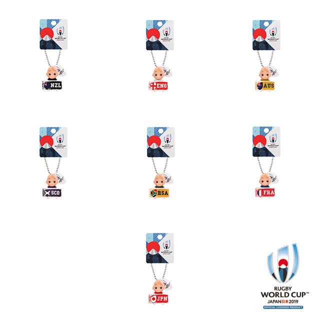 ラグビーワールドカップ2019(TM) 公式ライセンス プレートキューピー 【全7種】
