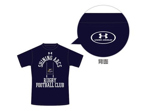 NTTコミュニケーションズシャイニングアークス Tシャツ ネイビー