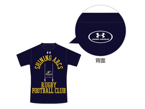 NTTコミュニケーションズシャイニングアークス ユースTシャツ ネイビー