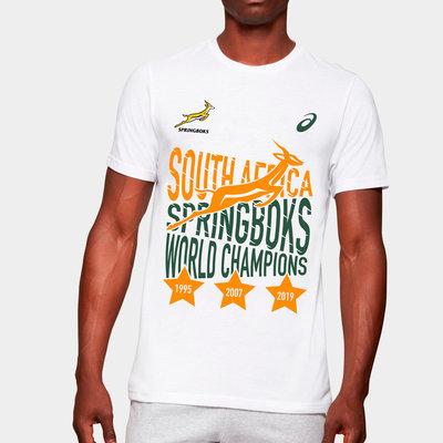 南アフリカ代表 スプリングボクス優勝記念Tシャツ【海外モデル】