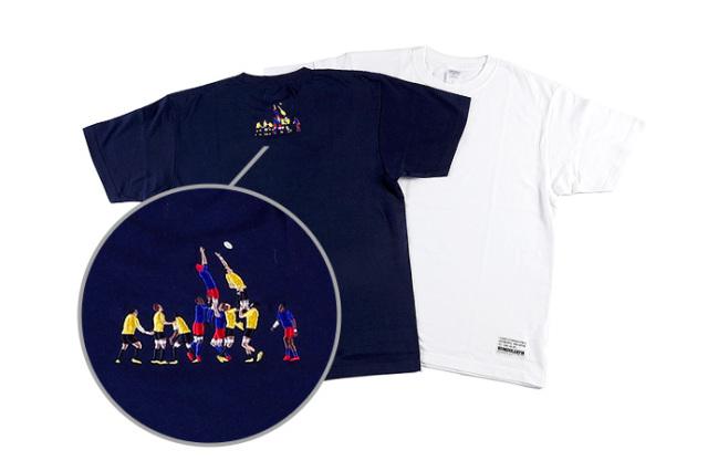 サントリーサンゴリアス 刺繍Tシャツ 【ラインアウト】