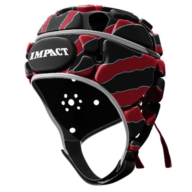 IMPACT V2 Premium Vented ストリーク レッド