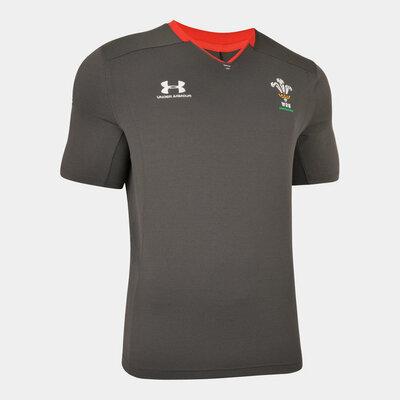 ウェールズ代表 19/20 トレーニングTシャツ ブラック 【海外取寄商品】