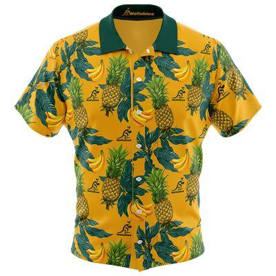 オーストラリア代表 ワラビーズ 2019  ハワイアンシャツ