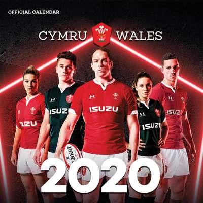 ウェールズ代表 2020 カレンダー