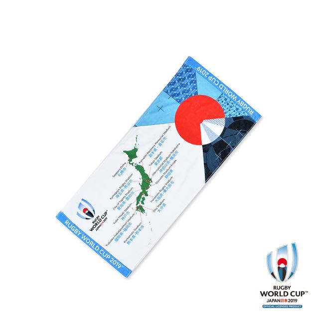 ラグビーワールドカップ2019(TM) 公式ライセンス フェイスタオル 開催地