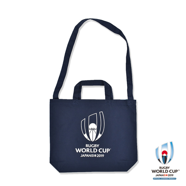ラグビーワールドカップ2019(TM) 公式ライセンス 2WAYトートバッグ(ネイビー)
